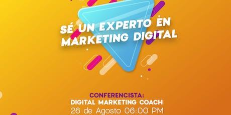 Sé un experto en Marketing Digital  entradas