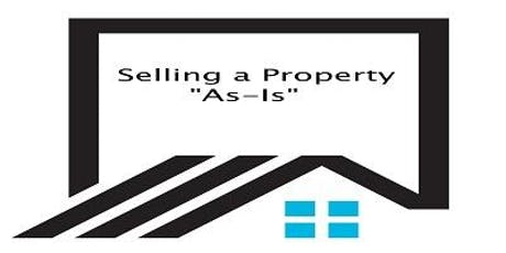 "Selling a Property ""AS IS"" - Making Real Estate Disclosures in Georgia - FREE 3 Hour CE Stonecrest tickets"