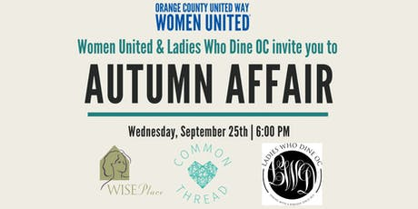 Women United Autumn Affair tickets