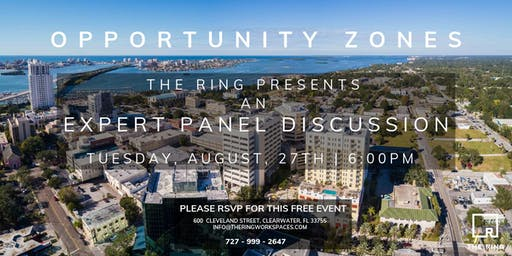 Opportunity Zones Expert Panel Discussion.