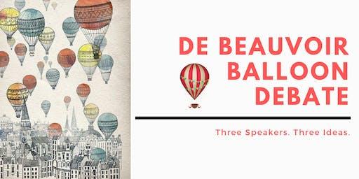 De Beauvoir Balloon Debate Autumn 2019