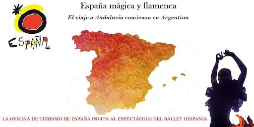 España mágica y flamenca. El viaje a Andalucía comienza en Argentina