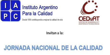 JORNADA NACIONAL DE CALIDAD entradas