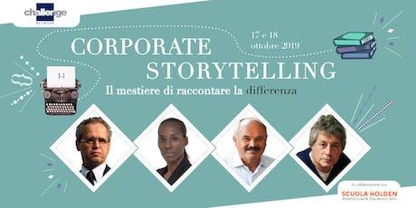 Corporate Storytelling - Challenge Network & Scuola Holden biglietti