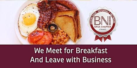 BNI OPUS Norwich Business Networking tickets