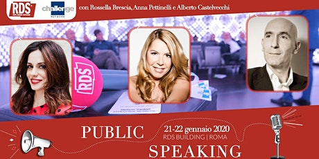 Public Speaking - Challenge Network & RDS biglietti