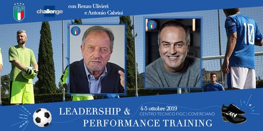 Leadership & Performance Training - Challenge Network & FIGC