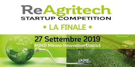 ReAgritech Startup Competition 2019 biglietti