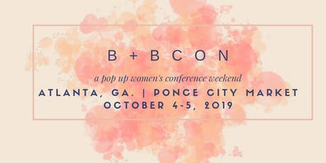 #BBCON - a pop up conference tickets