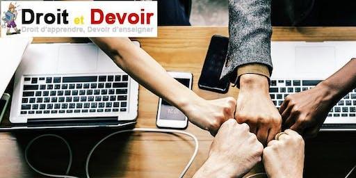 """Atelier participatif  interne""""Droit et Devoir"""""""