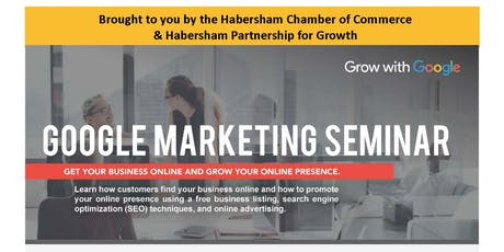 Grow with Google Marketing Seminar tickets