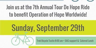 7th Annual Tour de Hope Road Bike Ride