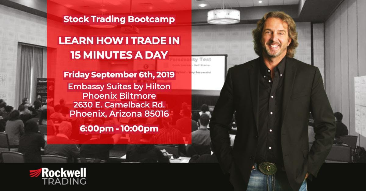 Rockwell Stock Trading Bootcamp - PHOENIX, September 6th