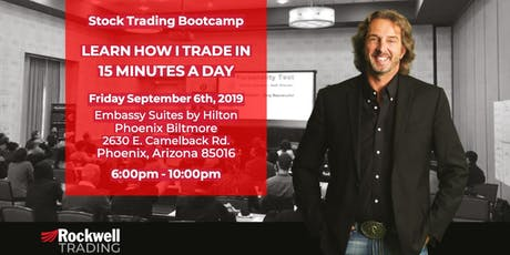 Rockwell Stock Trading Bootcamp - PHOENIX, September 6th tickets