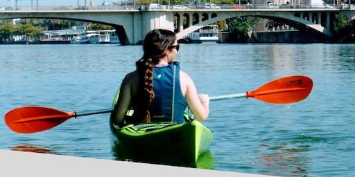 Cursos de kayak ACA.Sevilla.Spain