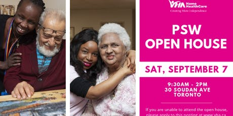 PSW Open House tickets