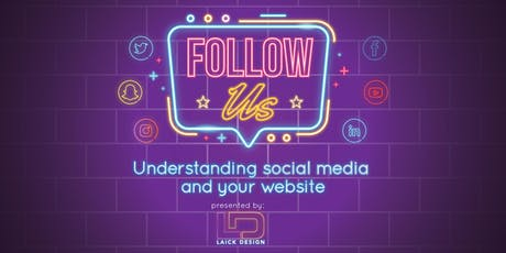 Follow Us - Understanding Social Media and the Web tickets