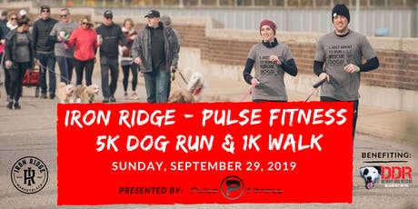 2019 Iron Ridge - Pulse Fitness Dog 5K Run & 1K Walk  tickets