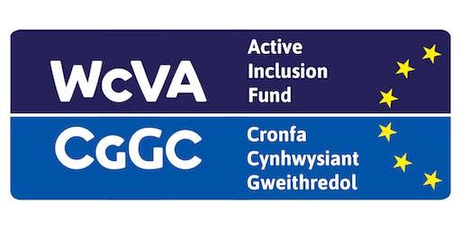 Sesiwn wybodaeth Cronfa Cynhwysiant Gweithredol / Active Inclusion Fund Information Session - Llandudno