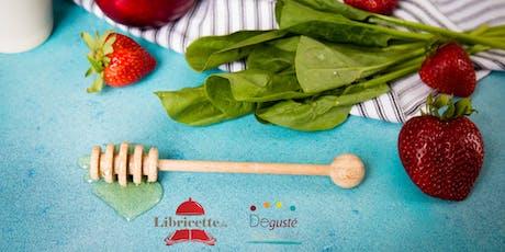 Scuola di cucina - Ricette dolci e salate con il miele biglietti
