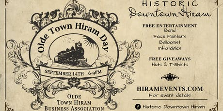 Olde Town Hiram Day 2019 tickets