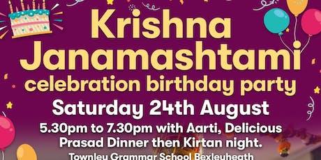 "Krishna ""Janamashtami"" Celebrations & Bhajan Kirtan in Bexley, Kent tickets"