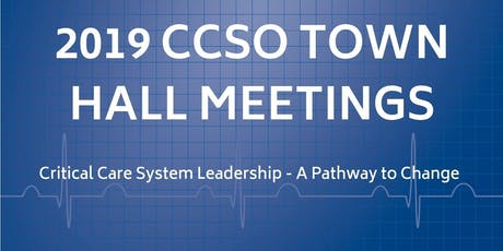 2019 CCSO Town Hall Meeting for the South West LHIN  tickets