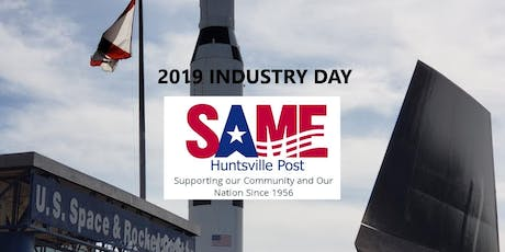 2019 Society of American Military Engineers- Huntsville Post Industry Day tickets