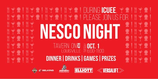 ICUEE 2019 - NESCO Night