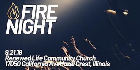 FIRE NIGHT (worship night) tickets
