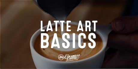 Latte Art Class Wed. September 11th 5:30pm  tickets