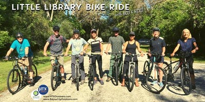 Little Library Bike Ride with BCO & HTXO