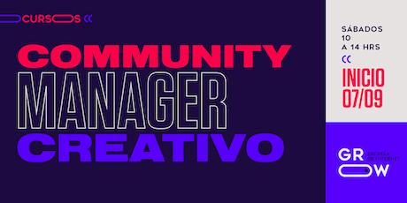 Community Manager Creativo (intensivo) entradas