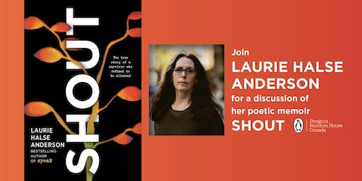 Laurie Halse Anderson at Book Warehouse