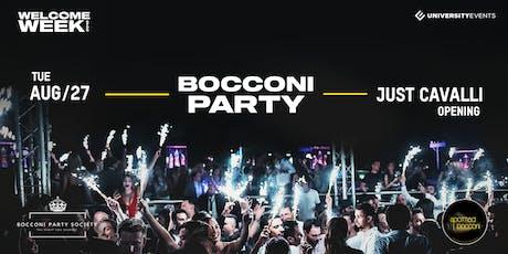 Bocconi Party at Just Cavalli Opening biglietti