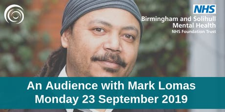 Free Event: In Conversation session with Mark Lomas tickets