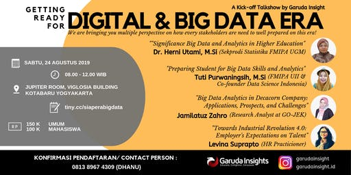 Getting Ready for Digital & Big Data Era
