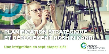 Planification stratégique et déploiement Hoshin kanri : une intégration en sept étapes clés billets
