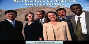 """""""Best Practice for Brokers & Associate Brokers 2019"""" 4..."""