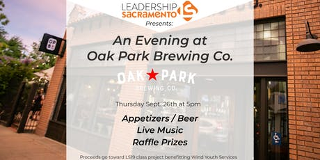 Leadership Sacramento Presents ... An Evening at Oak Park Brewery tickets