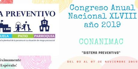 Congreso Anual Nacional XLVIII entradas