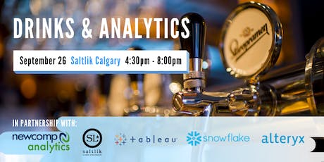Drinks & Analytics - Calgary tickets