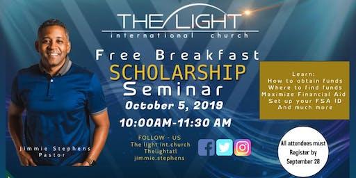 Free Scholarship Breakfast Seminar