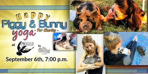 Happy Piggy & Bunny Yoga-For Charity at Martin House Brewing