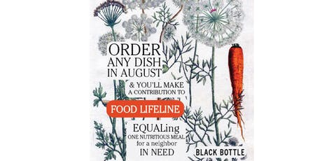 Feed the Hungry with Black Bottle tickets
