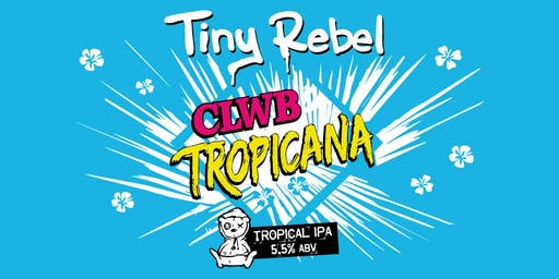 Clwb Tropicana Perfect Draft Launch & Tasting