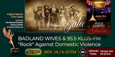 Badland Wives & 95.5 KLOS-FM Rock Against Domestic Violence tickets