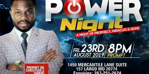 POWER NIGHT (AUGUST)