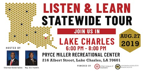 Listen and Learn Lake Charles tickets