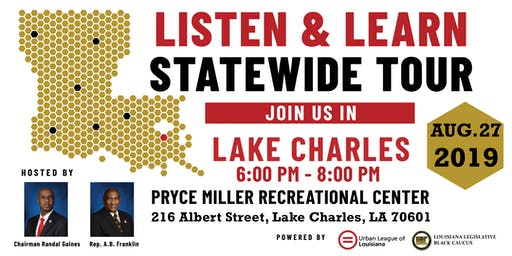 Listen and Learn Lake Charles